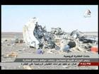 Caixas-pretas de avião russo que caiu no Egito são recuperadas