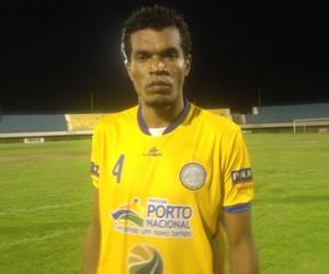 Dentinho marcou o único gol da partida (Foto: Edson Reis/GloboEsporte.com)