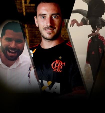 CARROSSEL - Flamengo polêmica apresentação terceira camisa (Foto: Editoria de Arte)