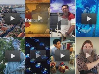 Matérias antigas do Projeto Educação (Foto: Reprodução/TV Globo)