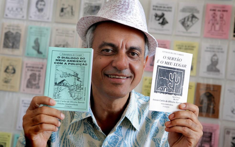 O poeta cordelista Antônio Barreto é uma das atrações do Cordelizando (Foto: Divulgação/Assessoria)