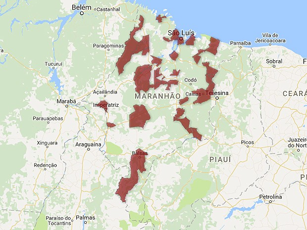 Arrombamentos e assaltos foram registrados em 35 cidades (Foto: G1)