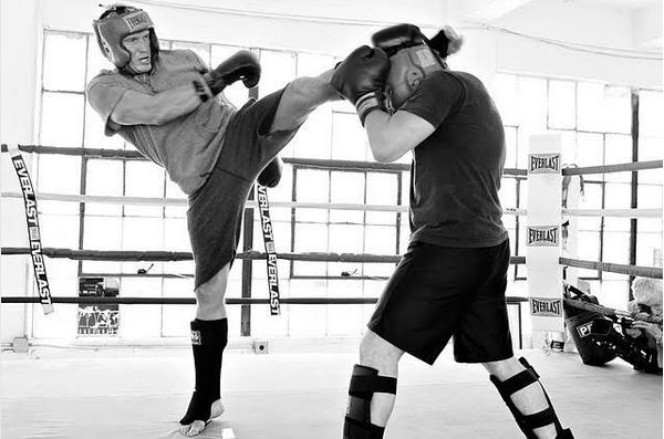 O treinamento do ator Dolph Lundgren para o próximo filme da franquia Rocky (Foto: Instagram)