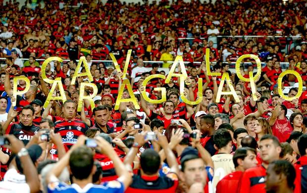 torcida Flamengo no Maracanã jogo Botafogo (Foto: Alexandre Cassiano / Agência O Globo)