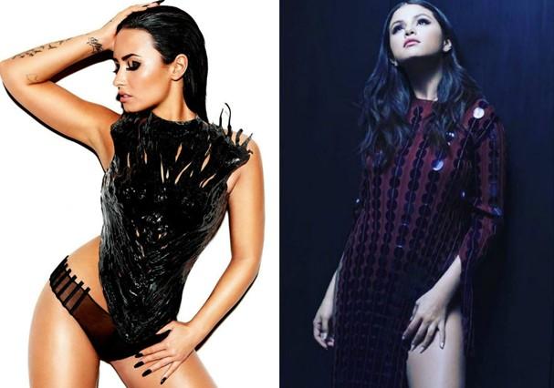 Demi Lovato e Selena Gomes estão entre os jovens mais tops da música  (Foto: Divulgação)