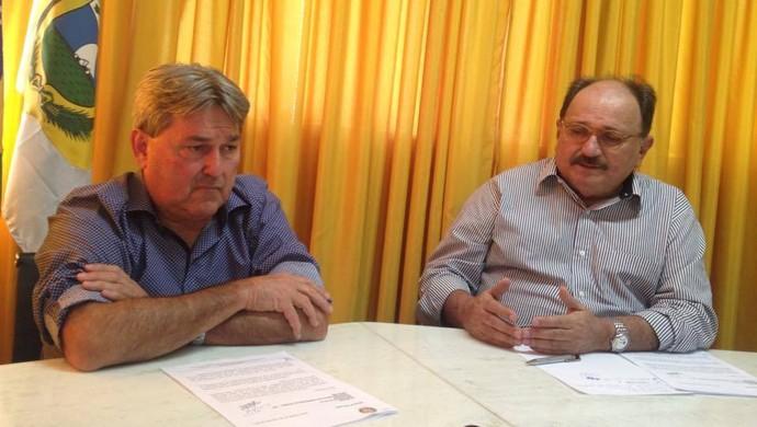 Tomba José Vanildo FNF (Foto: Carlos Cruz/GloboEsporte.com)
