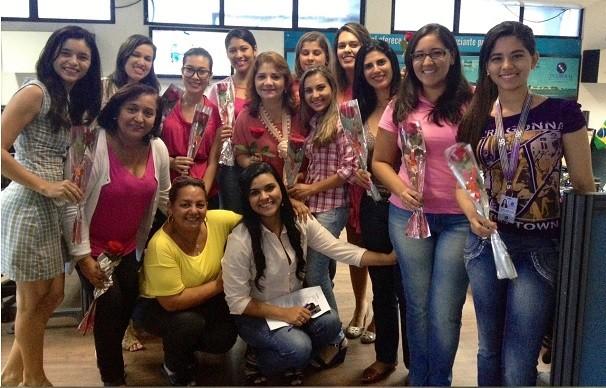 Mulheres da TV Liberal (Foto: Kenny Teixeira)