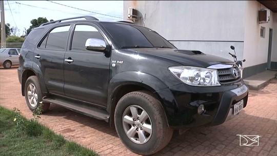Caminhonete roubada em Brasília é apreendida pela polícia em Balsas
