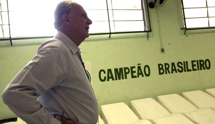 Carlos Alberto Silva bastidores filme oficial do Guarani (Foto: Samir Cheida / Divulgação)
