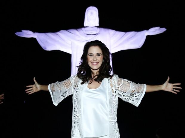 Guilhermina Guinle em show na Zona Sul do Rio (Foto: Roberto Filho/ Brazil News)