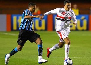 Grêmio x São Paulo 2008 (Foto: Agência VIPCOMM)