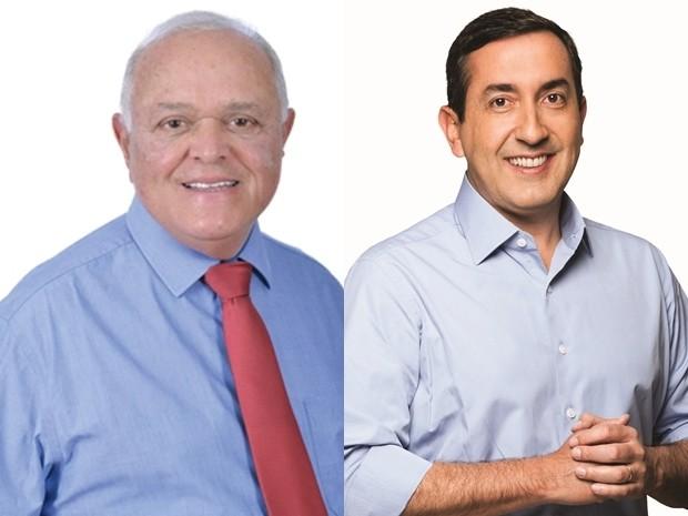 Luiz Carlos Gondim e Marcus Melo participam de debate em Mogi das Cruzes (Foto: Arte/G1)
