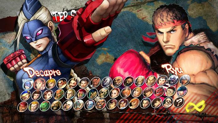 Com 44 personagens, não há como reclamar de falta de variedade (Foto: Reprodução/Capcom)