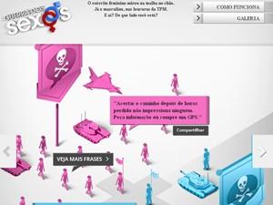 Aplicativo Guerra dos Sexos (Foto: Guerra dos Sexos/TV Globo)