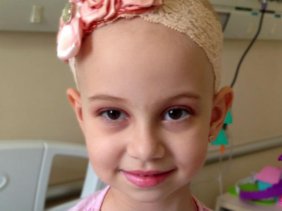 História da fada do cabelo ajudou para que Luísa enfrentasse o tratamento de uma maneira mais positiva (Foto: Arquivo pessoal )