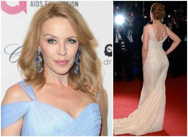 O bumbum de Kylie Minogue vale 5 milhões de dólares, de acordo com a seguradora contratada pela popstar australiana. (Foto: Getty Images)