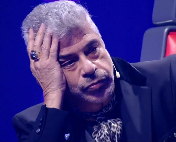 Lulu Santos se mostra indeciso durante a segunda noite de Batalhas (Foto: Tv Globo)
