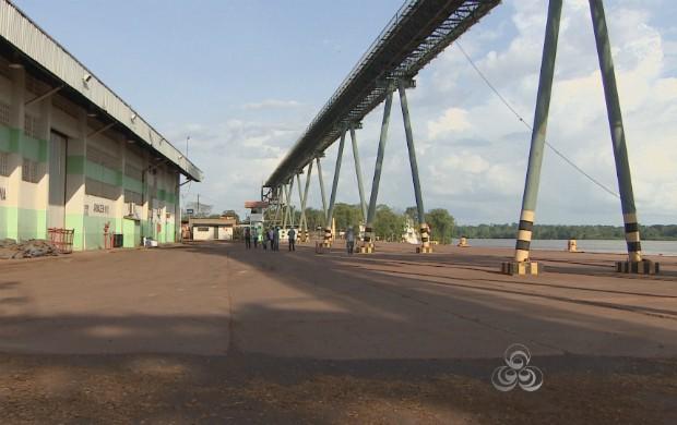 A instalação da rede geodésica começou no município de Santana (Foto: Bom Dia Amazônia)