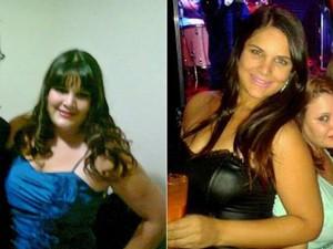 Deyse perdeu 23 kg e recuperou o amor próprio (Foto: Arquivo pessoal)