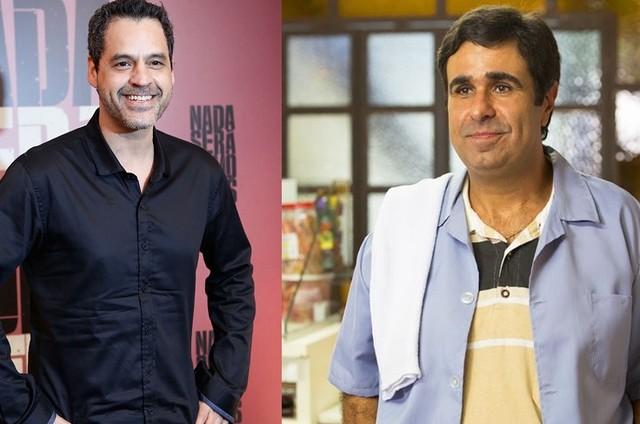 Bruno Garcia e Orã Figueiredo (Foto: Reprodução)