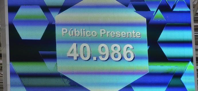Público - Palmeiras x Chapecoense (Foto: Marcos Ribolli)