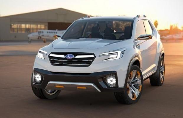 Dianteira do Subaru VIZIV Future Concept (Foto: Divulgação)