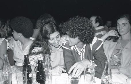 Em 1982 com o amigo Caetano Veloso Antonio Nery
