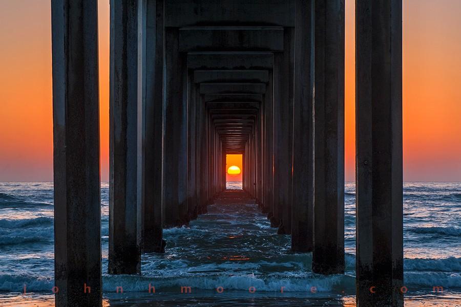 Píer fica em La Jolla, Califórnia (Foto: Divulgação)