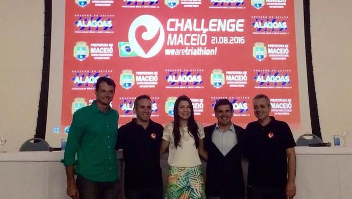 Lançamento Challenge Maceió (Foto: Karina Moraes)