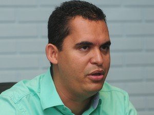 Prefeito eleito de Viana, Gilson Daniel, teve diplomação suspensa (Foto: Ricardo Medeiros / Jornal A Gazeta)