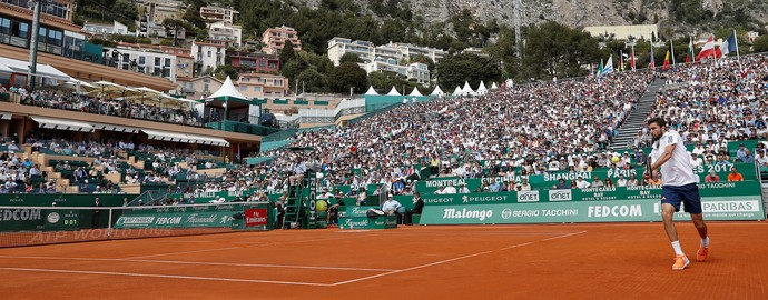 Masters 1000 Monte Carlo tênis - Djokovic x Simon (Foto: Reuters)