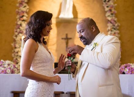 Florisval e Rosângela se casam