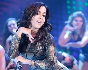 Anitta (Foto: Domingão do Faustão / TV Globo)