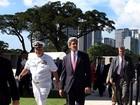 Kerry minimiza tensão com a China por causa de disputas marítimas