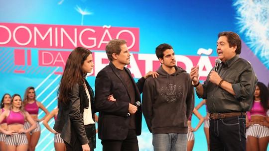 Enzo, filho de Edson Celulari e Claudia Raia, ganha elogios na web