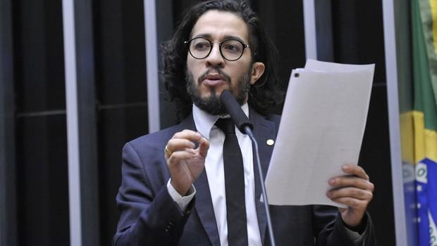 O deputado federal Jean Wyllys (PSOL-RJ) (Foto: Nilson Bastian/Câmara dos Deputados)