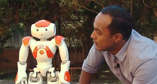 hoje é dia de robô (Reprodução TV)