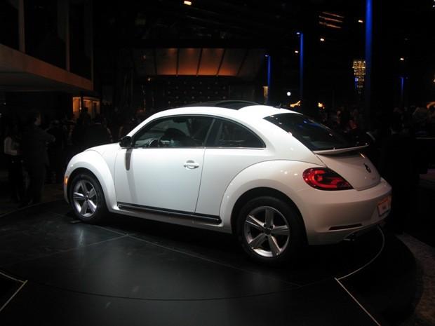volkswagen fusca beetle (Foto: Luciana de Oliveira/G1)