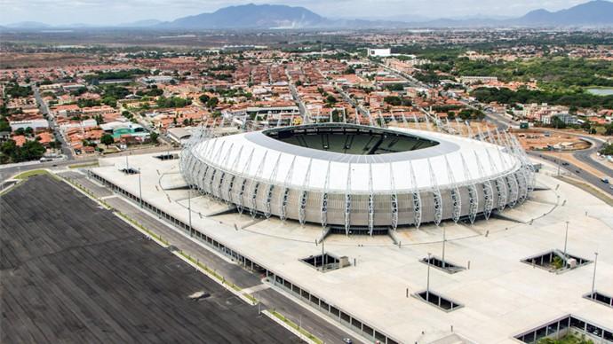 Arena Castelão recebe a edição 'Villa Mix Fortaleza 2015'. (Foto: Divulgação)