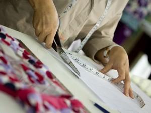 Setor de vestuário foi um dos destaques, com alta de 16,7% no bimestre  (Foto: Arquivo Fiesc)