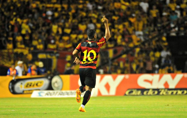 Sport x Joinville - Marcos Aurélio (Foto: Aldo Carneiro/Pernambuco Press)