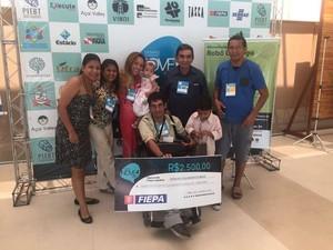 Ernani Alex falou d aimportância do apoio da família para superação de constanets desafios. (Foto: Divulgação)