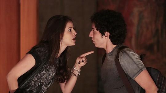 Últimos capítulos: Bruno volta a se drogar e Giovanna faz alerta
