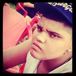 Pablo, filho de Naldo (Foto: reprodução/Instagram)