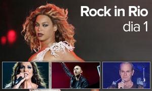 Beyoncé e Ivete foram as divas; David Guetta promoveu 'balada' (Arte/G1)