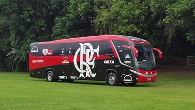 Ônibus Flamengo Mangaratiba (Foto: Gustavo Rotstein)
