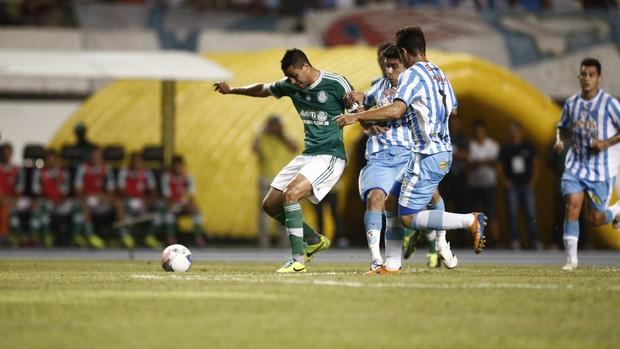 Paysandu e Palmeiras (Foto: Tarso Sarraf / O Liberal)