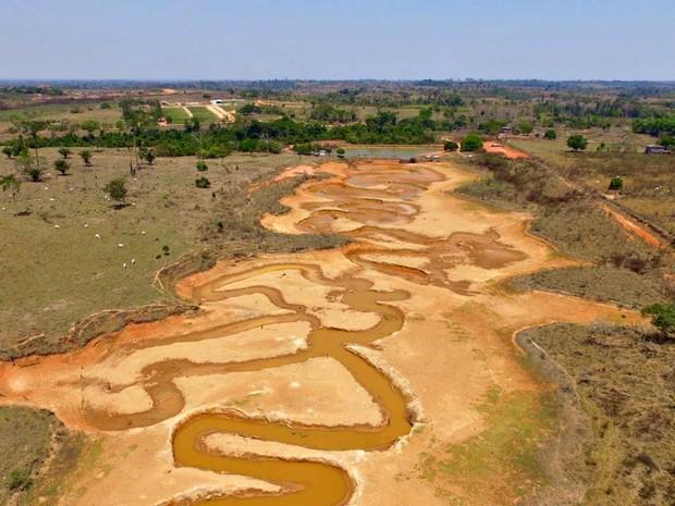 Acrelândia enfrenta crise hídrica e racionamento de água deve aumentar de dois para três a partir de sexta-feira (9) (Foto: Pedro Devani/Ascom )