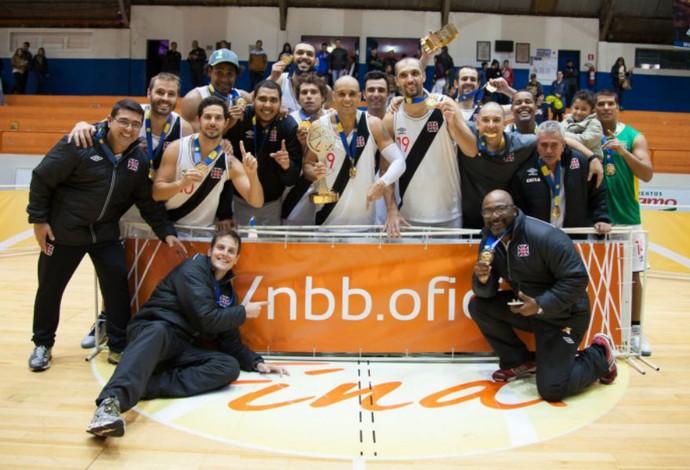 Vasco campeão Liga Ouro basquete (Foto: Allan Conti / LNB)