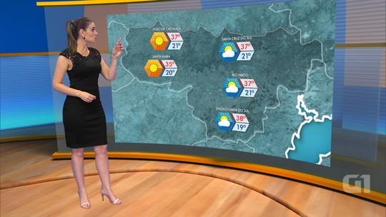 Sexta-feira deve ter máxima de 37°C e chuva isolada em parte do RS